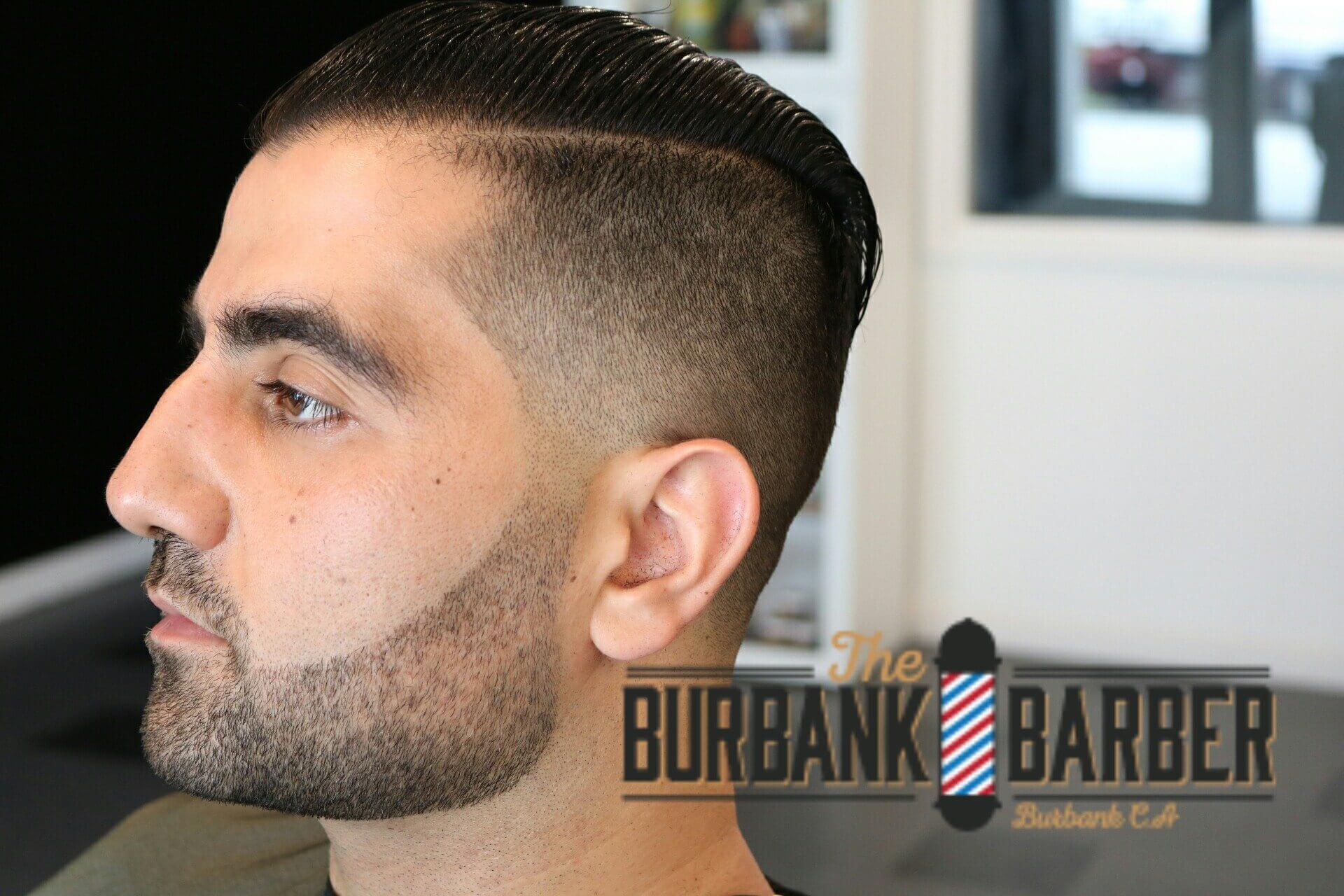 The Hide Room – The Burbank Barber, Angel Orellana, is a vintage